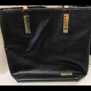 Kenneth Cole Reaction Shoulder Bag, Black & Gold